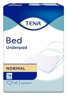 Пеленки впитывающие Tena Bed Normal 60 x 60 см, 5 штук