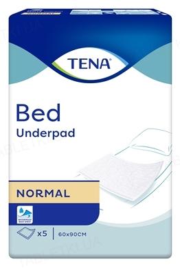 Пеленки впитывающие Tena Bed Normal 60 x 90 см, 5 штук