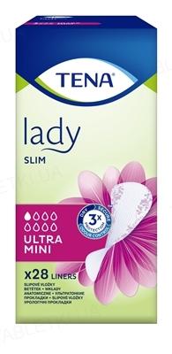 Прокладки урологические Tena Lady Ultra Mini, 28 штук