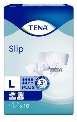 Подгузники для взрослых Tena Slip Plus Large, 10 штук