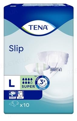 Подгузники для взрослых Tena Slip Super Large, 10 штук
