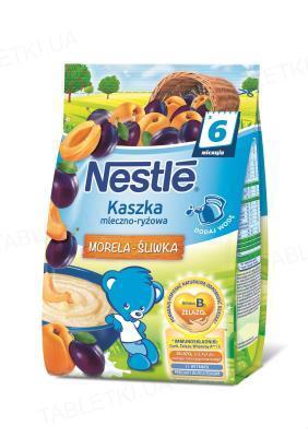 Молочная каша Nestle рисовая со сливой и абрикосом, с 6 месяцев, 230 г
