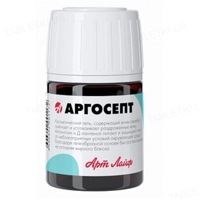 Гель антисептик Артлайф Аргосепт на основе серебра, 20 мл