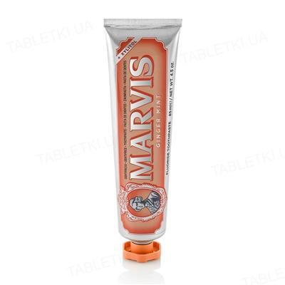 Зубная паста Marvis Имбирь и мята, 85 мл