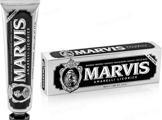 Зубная паста Marvis Амарелли лакрица и мята, 85 мл