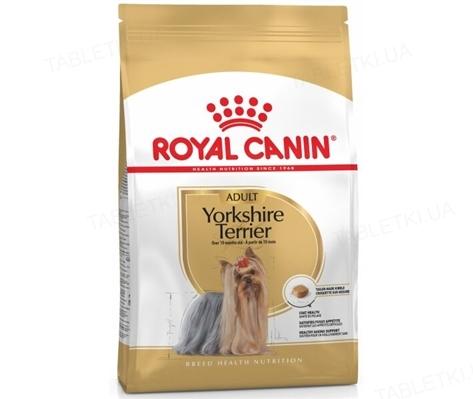 Корм сухой для собак Royal Canin Yorkshire Terrier Adult старше 10 месяцев, 0,5 кг