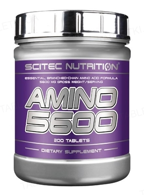 Амінокислота Scitec Nutrition Amino 5600, 200 таблеток