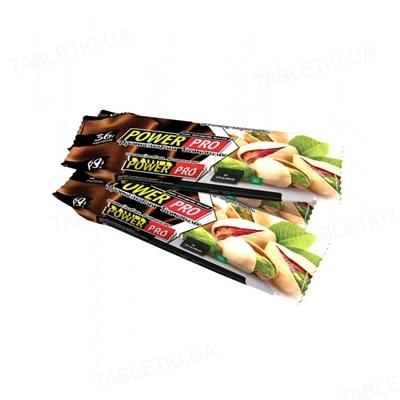 Батончик Power Pro 36% горіх Nutella фісташкове праліне, 60 г