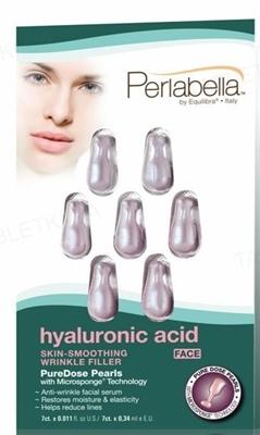 Сыворотка для лица Эквилибра Перлабелла с гиалуроновой кислотой, 7 штук