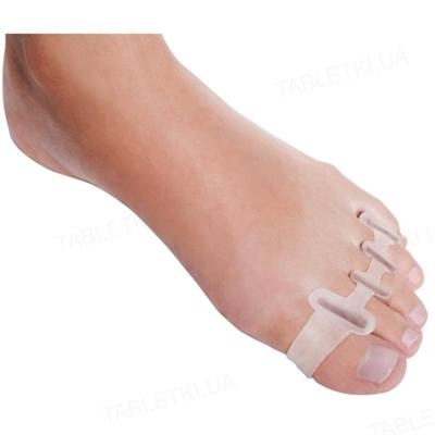 Корректор-разделитель Foot Care GB-07 для всех пальцев стопы силиконовый, размер L
