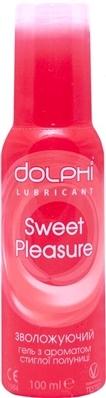 Гель-смазка интимная Dolphi Sweet Pleasure с ароматом клубники, 100 мл