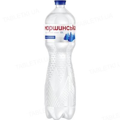 Вода минеральная Моршинская сильногазированная, 1,5 л