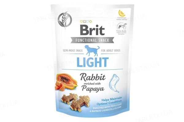 Лакомство для собак Brit Care Light кролик с папайей, 150 г