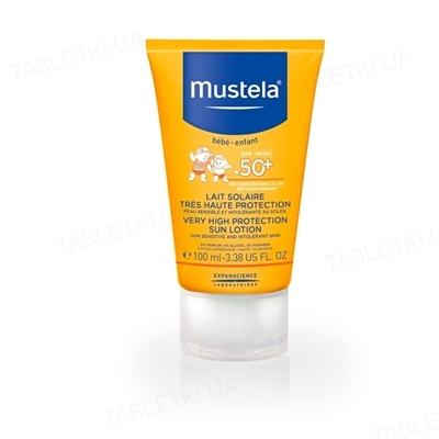 Лосьйон Mustela, сонцезахисний, SPF + 50, 100 мл