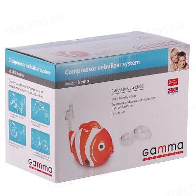 Ингалятор (небулайзер) Gamma Nemo компрессионный