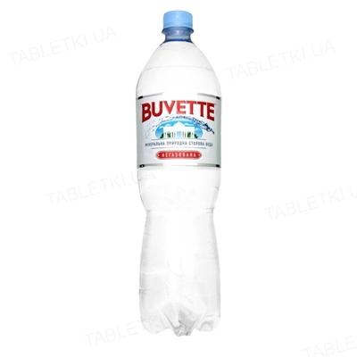 Вода минеральная Buvette Vital негазированная, 1,5 л