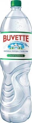 Вода минеральная Buvette Vital слабогазированная, 1,5 л