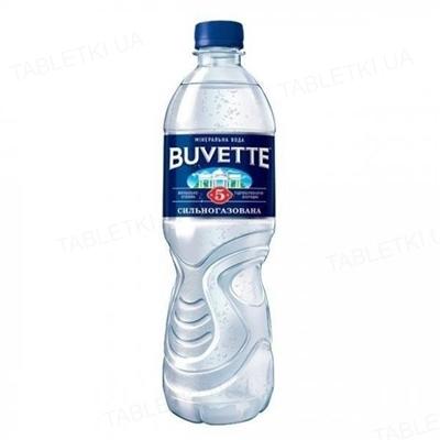 Вода минеральная Buvette №5 сильногазированная, 0,5 л