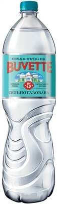 Вода минеральная Buvette №5 сильногазированная, 1,5 л