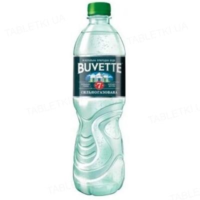 Вода минеральная Buvette №7 сильногазированная, 0,5 л