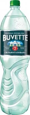 Вода минеральная Buvette №7 сильногазированная, 1,5 л