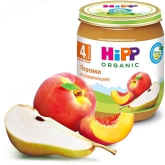 Фруктовое пюре HiPP «Персики», 125 г