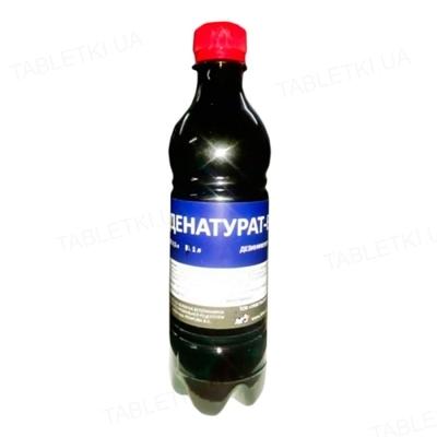 Денатурат-Вет (ДЛЯ ЖИВОТНЫХ) дезинфицирующее средство, 0,5 л
