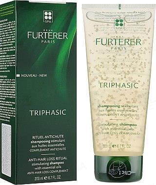 Шампунь Rene Furterer Triphasic Anti-Hair Loss Ritual Shampoo против выпадения волос, 200 мл
