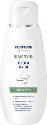 Шампунь Forforin Clinical против жирной перхоти, 200 мл