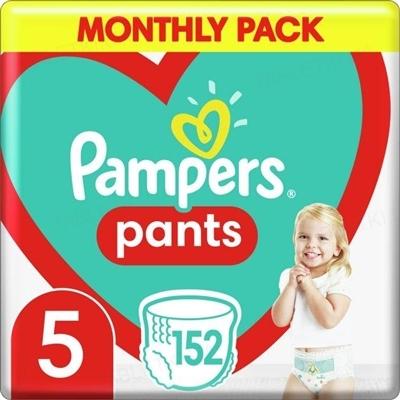 Подгузники-трусики детские Pampers Pants размер 5, 12-17 кг, 152 штуки