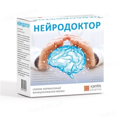 Нейродоктор раствор по 10 мл №20 в саше