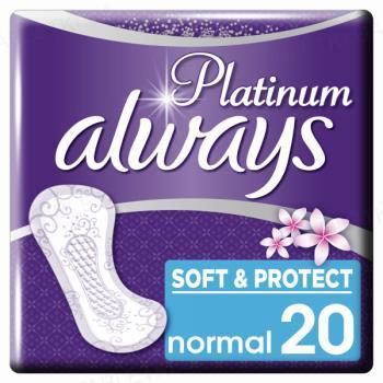 Прокладки ежедневные Always Platinum Collection Deo Normal, 20 штук