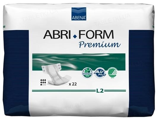 Подгузники для взрослых Abena Abri-Form Premium 4745 L - 2 (100-150 см), 22 штуки