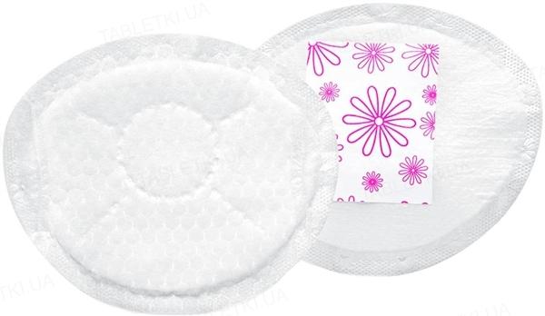 Вкладыши лактационные Medela Disposable nursing pads Safe&Dry одноразовые ультратонкие, 30 штук