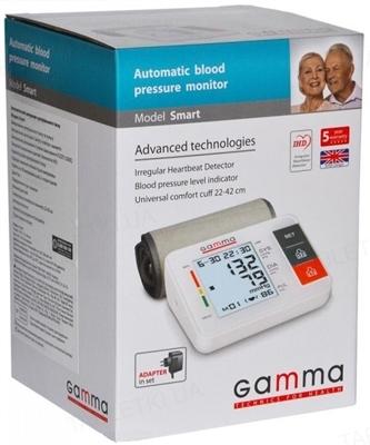 Тонометр Gamma Smart автоматический с сетевым адаптером