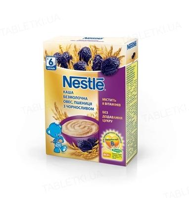 Безмолочная каша Nestle овес, пшеница с черносливом, 200 г