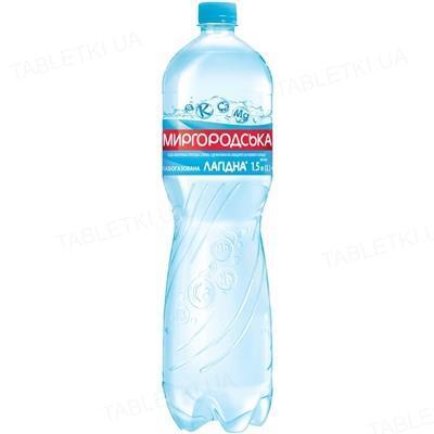 Вода минеральная Миргородская Лагидная слабогазированная, 1,5 л