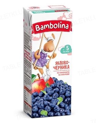 Сок Bambolina Яблоко-черника, 200 мл