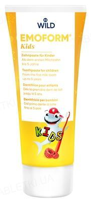 Зубна паста Dr. Wild Emoform Kids, від 1 року, 75мл