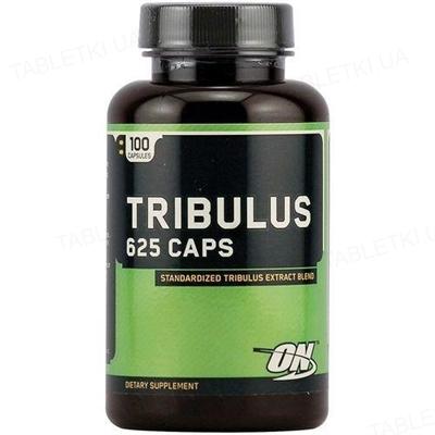Потенцер Optimum Nutrition Tribulus 625, 100 капсул