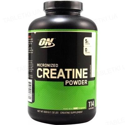 Креатин Optimum Nutrition Creatine Powder, 600 г