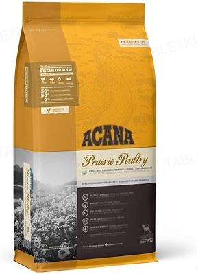Корм сухой для собак всех пород ACANA Prairie Poultry, 17 кг