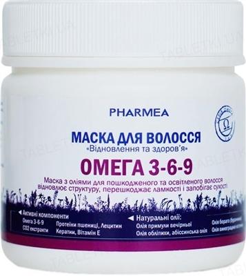 Маска для волос Pharmea Омега 3-6-9 Восстановление и здоровье, 200 мл