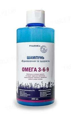 Шампунь Pharmea Омега 3-6-9 Восстановление и здоровье, 350 мл