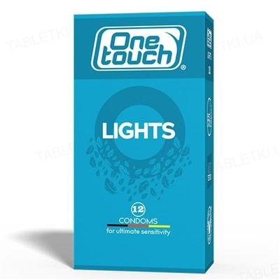 Презервативы One Touch Lights особо тонкие, 12 штук