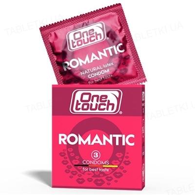 Презервативы One Touch Romantic ароматизированные, 3 штуки