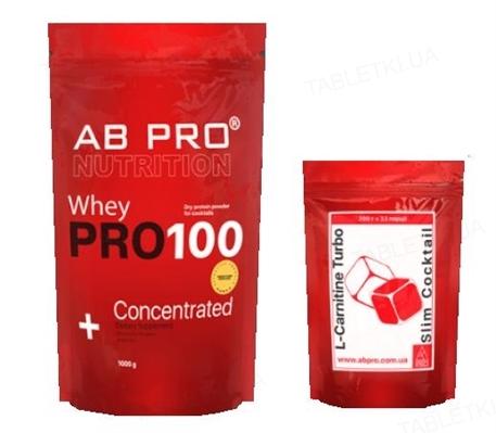 Комплект AB PRO Жиросжигание (рельеф) Basic (протеин, жиросжигатель)