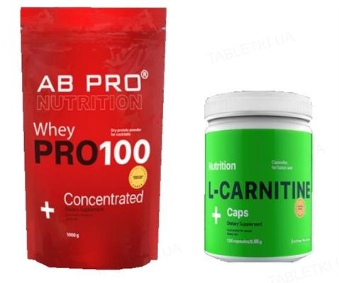 Комплект AB PRO Здоровье и функциональность Basic (протеин, жиросжигатель)