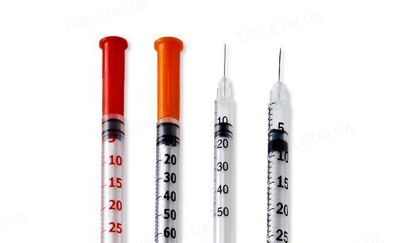 Шприц инсулиновый 1 мл U-100 Vogt Medical 30G (0.3 x 13 мм), 1 штука