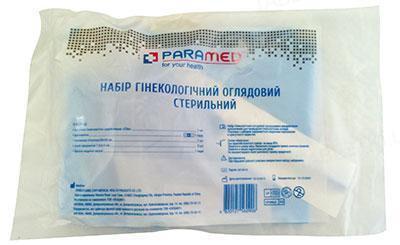 Набор гинекологический Paramed смотровой стерильный №6